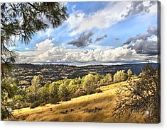 Taking A Ride Up Highway 32 Acrylic Print