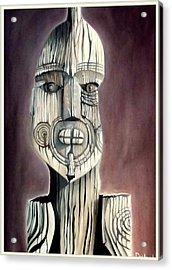 Taking A Stand Acrylic Print by Dawson Taylor