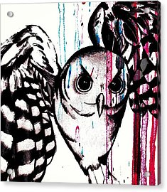 Taking Flight... #owl #abstract #pop Acrylic Print