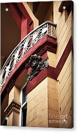 Taksim Architecture Acrylic Print by John Rizzuto
