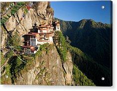Taktsang Dzong (monastery Acrylic Print