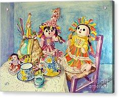 Talavera Tea With Friends Acrylic Print