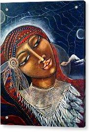 Taliswoman Acrylic Print by Maya Telford