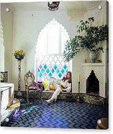 Talitha Getty Sitting By Window Acrylic Print