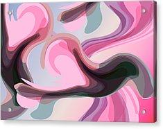 Talk To Me 3 Acrylic Print by Angelina Vick