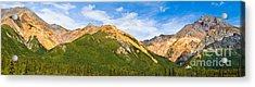 Talkeetna Mountains Acrylic Print by Chris Heitstuman