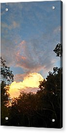 Acrylic Print featuring the photograph Talking Clouds by Jean Marie Maggi
