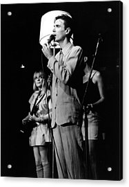 Talking Heads 1983 Acrylic Print by Chris Walter