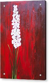 Tall Flower Acrylic Print
