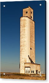 Acrylic Print featuring the photograph Tall Grain Elevator by Sue Smith