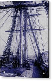Tall Ship 2 Acrylic Print by Jack Zulli
