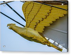 Tall Ship Uscg Barque Eagle Masthead Acrylic Print