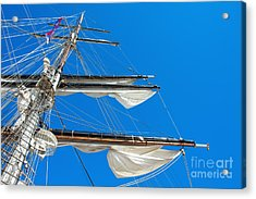 Tall Ship Yards Acrylic Print