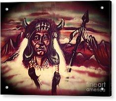 Tallchief Acrylic Print by Linda Simon