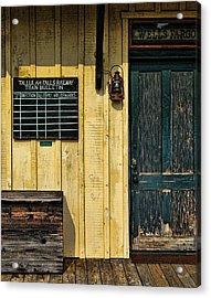 Tallulah Falls Rail Bulletin Acrylic Print by Kenny Francis
