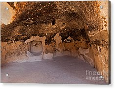 Talus Housefront Room Bandelier National Monument Acrylic Print