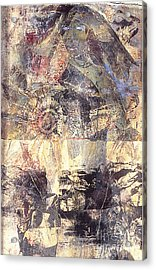 Tamara Acrylic Print by Charles B Mitchell