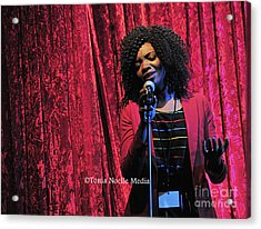 Acrylic Print featuring the photograph Tamara Stephens by Tonia Noelle