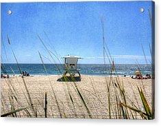 Tamarack Beach Acrylic Print by Ann Patterson