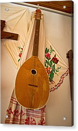 Tamburica Croatian Traditional Music Instrument Acrylic Print