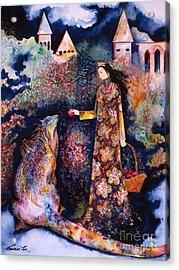 Taming Of The Dragon Acrylic Print