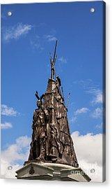 Tammany Regiment Monument At Gettysburg Acrylic Print