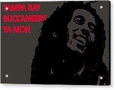 Tampa Bay Buccaneers Ya Mon Acrylic Print by Joe Hamilton