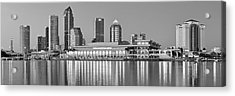 Tampa Panorama Acrylic Print by Frozen in Time Fine Art Photography