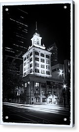 Tampa's Old City Hall Acrylic Print by Marvin Spates