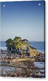 Tanah Lot Temple In Bali Indonesia Coast Acrylic Print