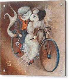 Tandem Acrylic Print by Marina Gnetetsky