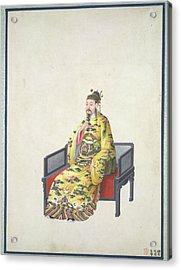 Tang Emperor Acrylic Print