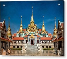 Tang Sai Temple Acrylic Print