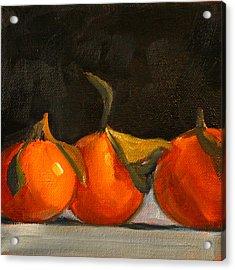 Tangerine Party Acrylic Print