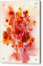 Tangerine Tango Acrylic Print