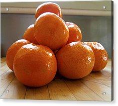 Tangerined Acrylic Print by Joe Schofield
