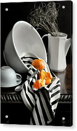 Tangerines Acrylic Print by Diana Angstadt