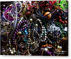 Tangled Baubles Acrylic Print by Christopher Holmes