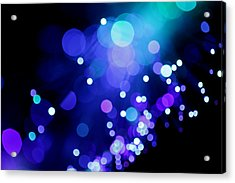 Tangled Up In Blue Acrylic Print