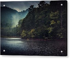 Tanglewood Lake Acrylic Print by William Schmid