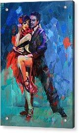 Tango 5 Acrylic Print by Mahnoor Shah