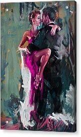 Tango 6 Acrylic Print by Mahnoor Shah