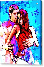 Tango Argentino - Love And Passion Acrylic Print by Reno Graf von Buckenberg