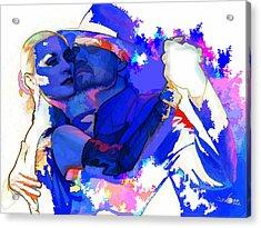 Tango Argentino - Pride And Devotion Acrylic Print by Reno Graf von Buckenberg