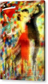 Tango As The Sunset Acrylic Print by Kenal Louis