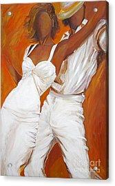 Tango Blanco Acrylic Print