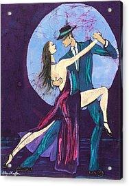Tango Dancers Acrylic Print