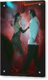 Tango Dancing Acrylic Print by Steven Boone