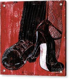 Tango Acrylic Print by Debbie DeWitt