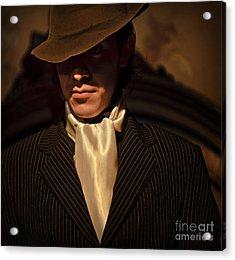 Acrylic Print featuring the photograph Tango - El Hombre by Michel Verhoef